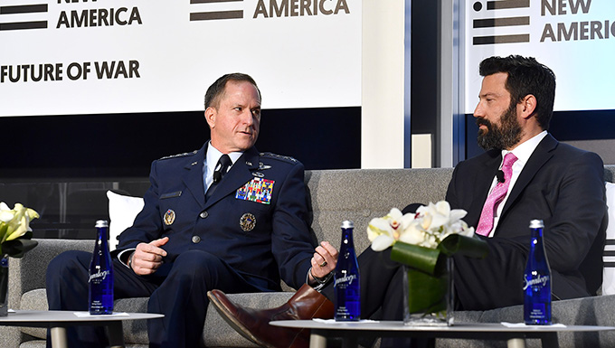 Goldfein: Future of war is networked, multi-domain