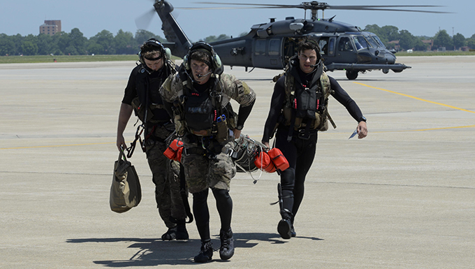 Rapid Rescue: Airmen hone search, rescue skills during exercise