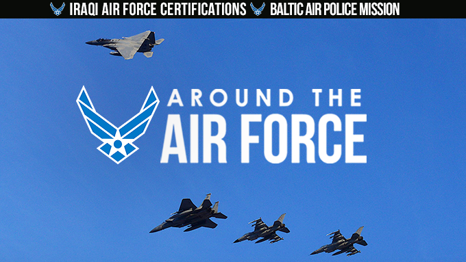Around the Air Force: Jan. 12