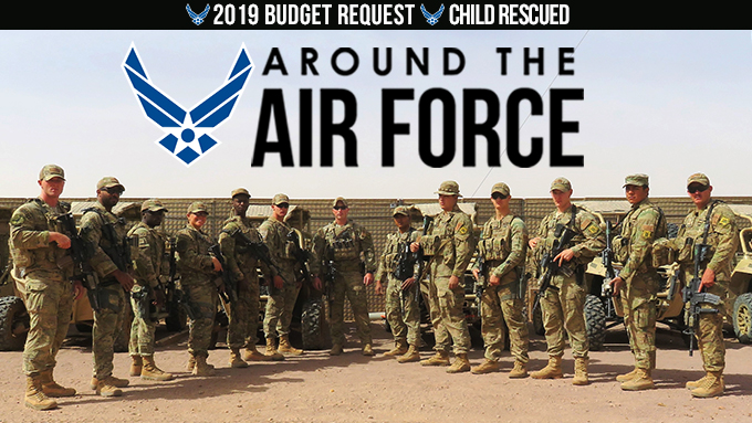 Around the Air Force: Feb. 16