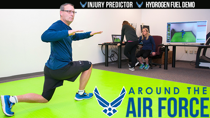 Around the Air Force: Feb. 23