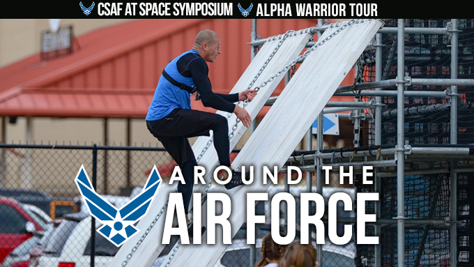 Around the Air Force: April 25