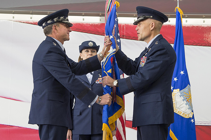 AETC welcomes new commander