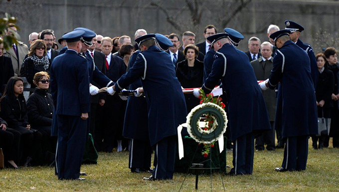 Medal of Honor recipient, former POW laid to rest