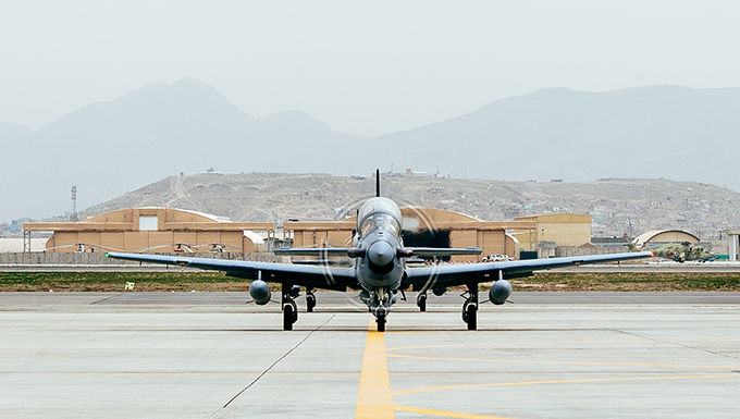 A-29s arrive at Kabul in time for fighting season