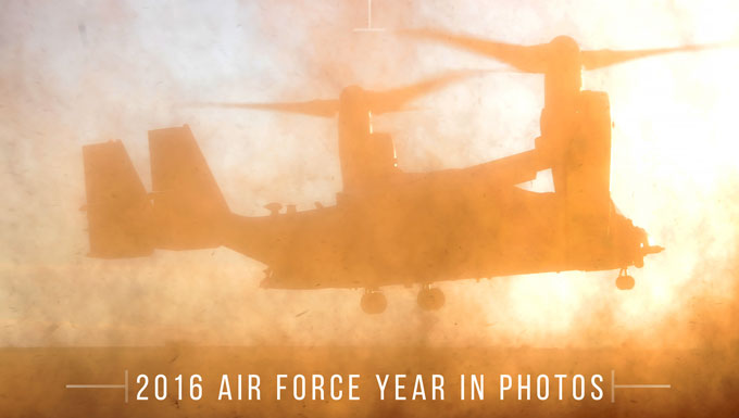 2016 Air Force year in photo