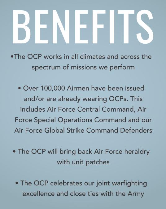 Air Force transitions to a single combat uniform > Defense Logistics