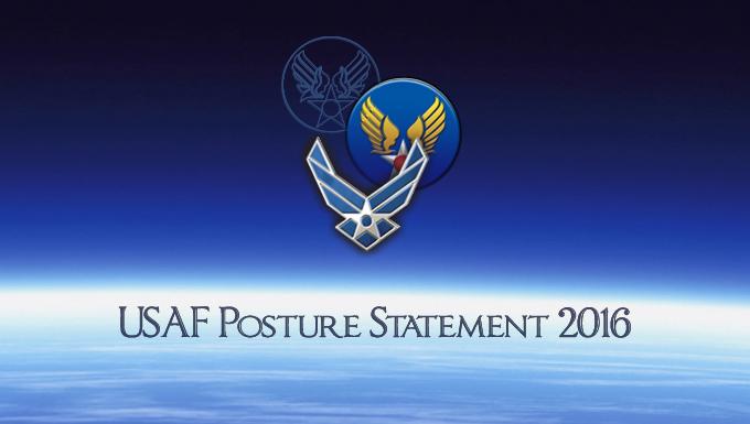USAF Posture Statement 2016