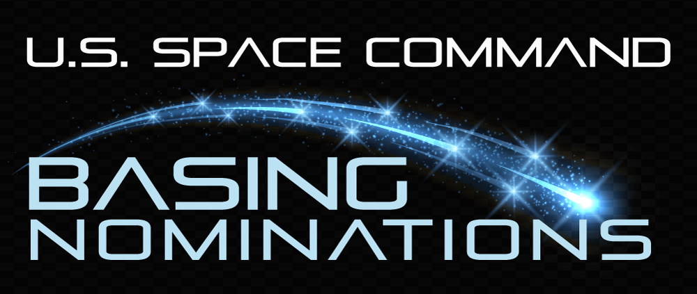 U.S. Space Command Basing Nominations