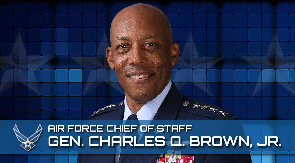 Portrait of Gen. Charles Q. Brown Jr., Chief of Staff of the Air Force