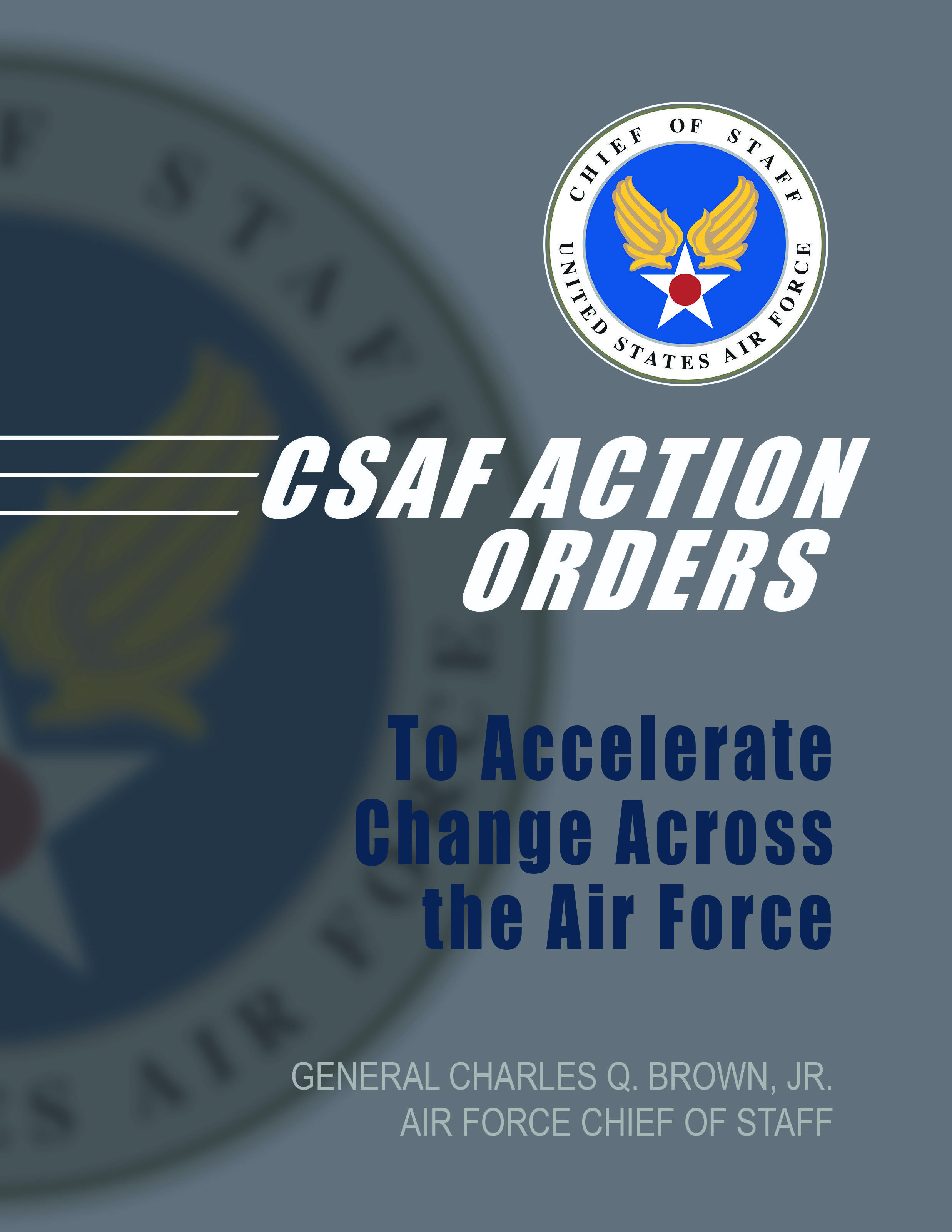 CSAF Action Orders