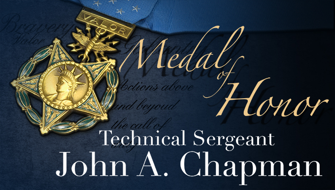 Chapman Medal of Honor Special Website
