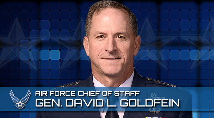 Portrait of Gen. David L. Goldfein, Chief of Staff of the Air Force